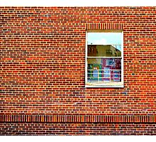 Brick by Brick Photographic Print