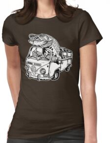 Musky Vanagon Womens Fitted T-Shirt