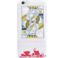 King of Hearts and His Troops iPhone Case/Skin