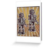 Robot Duet Greeting Card