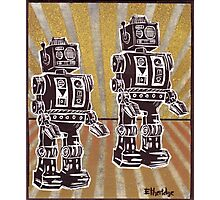 Robot Duet Photographic Print
