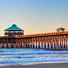 Folly Beach Pier by aikidawg