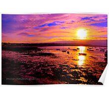 skerries sunset Poster