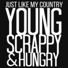 Young Scrappy & Hungry by Jen  Talley