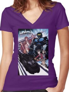 The Wraith  Women's Fitted V-Neck T-Shirt
