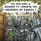 Dalek Witnesses by ToneCartoons