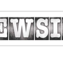 Newsies Logo Sticker