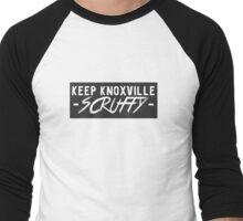 Keep Knoxville Scruffy Men's Baseball ¾ T-Shirt