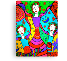 Graceful Tria Canvas Print