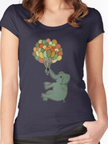 Light as a Feather Women's Fitted Scoop T-Shirt