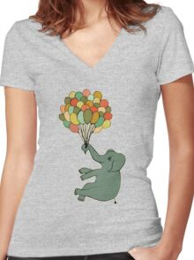 Light as a Feather Women's Fitted V-Neck T-Shirt