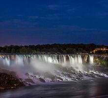 The Falls by John Velocci