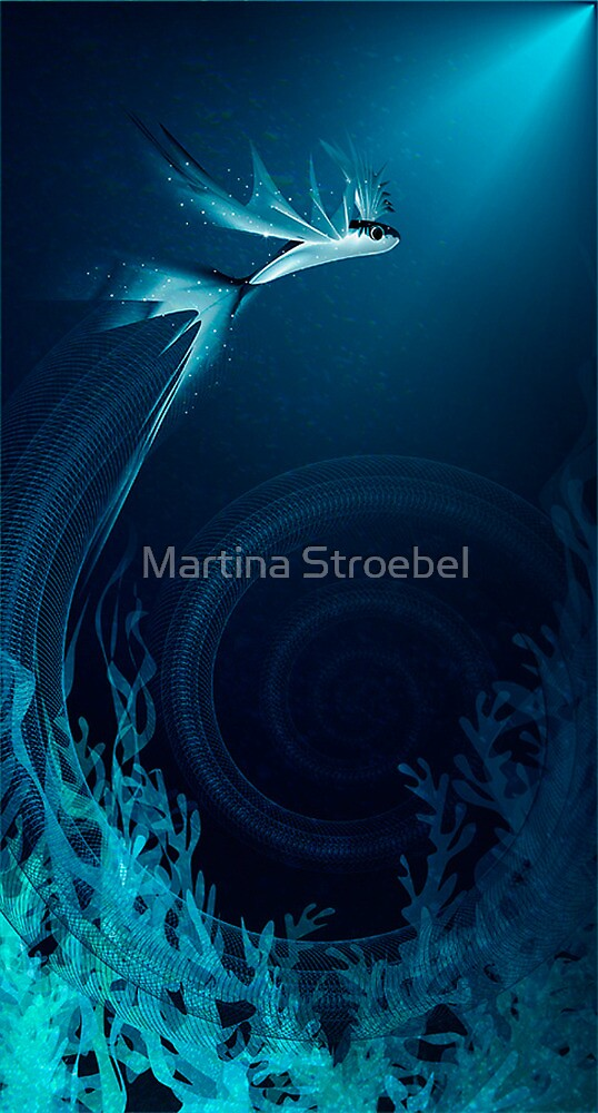 underwater dance by Martina Stroebel