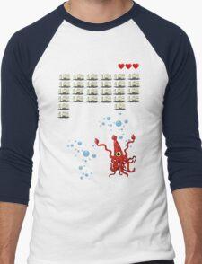 Ocean Invaders Men's Baseball ¾ T-Shirt