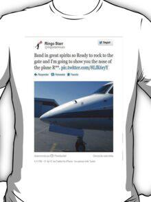 Ringo Starr tweets #4 T-Shirt