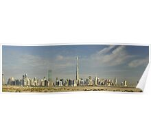 Sheikh Zayed Road from Meydan Poster