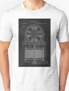 Tesla Coil Patent Art T-Shirt