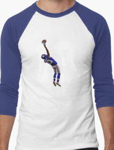 Catch it Like Beckham Men's Baseball ¾ T-Shirt