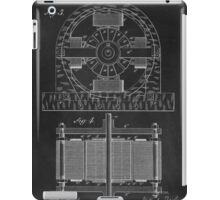 Tesla Coil Patent Art iPad Case/Skin