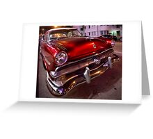 Miami Cruiser Greeting Card