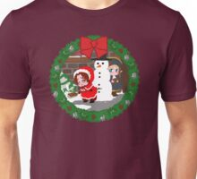 Christmas Chibitalia and Holy Rome Unisex T-Shirt