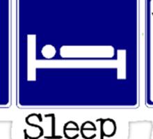 Eat, Sleep, Drum Sticker