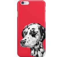 Dalmatian Red iPhone Case/Skin