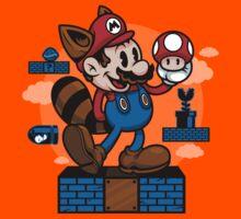 Vintage Mario Kids Clothes
