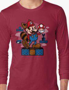 Vintage Mario Long Sleeve T-Shirt