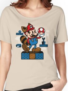 Vintage Mario Women's Relaxed Fit T-Shirt