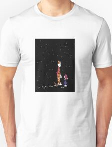 Calvin and hobbes in dreams T-Shirt