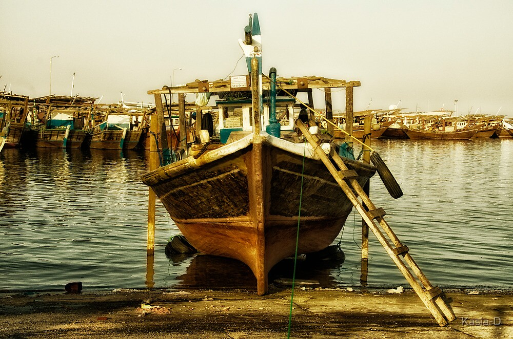 Dhow under Repair by Kasia-D