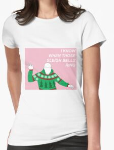 Hotline Bling Holidays Womens Fitted T-Shirt