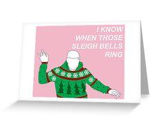 Hotline Bling Holidays Greeting Card
