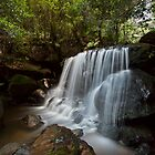 Leura Falls, NSW by Malcolm Katon