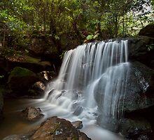 Leura Falls, NSW by Malcolm Katon