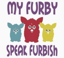 My Furby speak Furbish One Piece - Short Sleeve