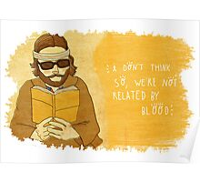 Richie Tenenbaum, by Siri Vinter Poster