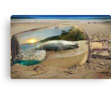 Beached Whale Canvas Print