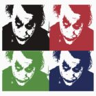 the joker - popart by archdaleminer