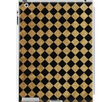Black and gold pattern iPad Case/Skin