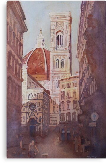 And Suddenly, The Duomo by JennyArmitage