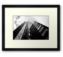 Rotterdam Skyscraper Framed Print