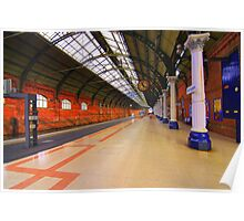 Platform 4, Darlington Bank Top Station, England Poster