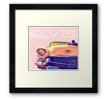 Elvis Presley Pink Cadillac Framed Print