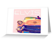 Elvis Presley Pink Cadillac Greeting Card