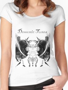 Demonic Tunes Women's Fitted Scoop T-Shirt