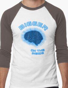 Thoughts And Radical Dreams Inside Skull Men's Baseball ¾ T-Shirt