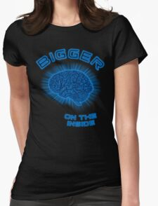 Thoughts And Radical Dreams Inside Skull Womens Fitted T-Shirt