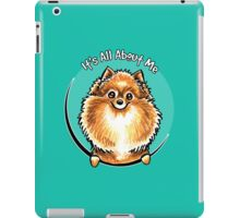 Orange Pomeranian :: Its All About Me iPad Case/Skin